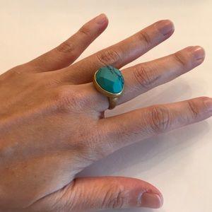Chloe and Isabel minaret turquoise ring